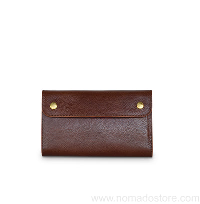 The Superior Labor Traveler's Purse (3 colours) - Italian Leather - NOMADO Store