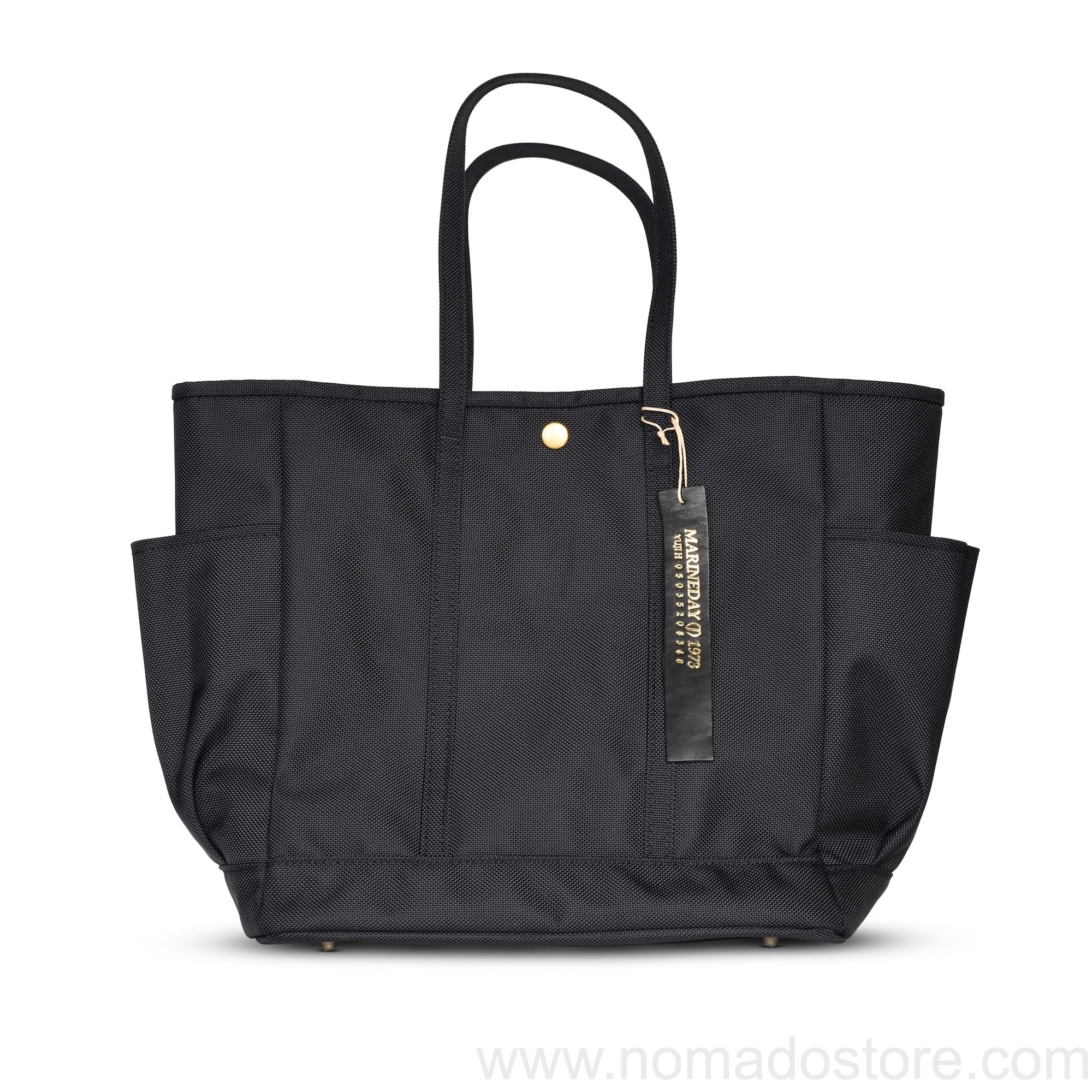 Marineday Nomad Tote Bag (Black) - NOMADO Store