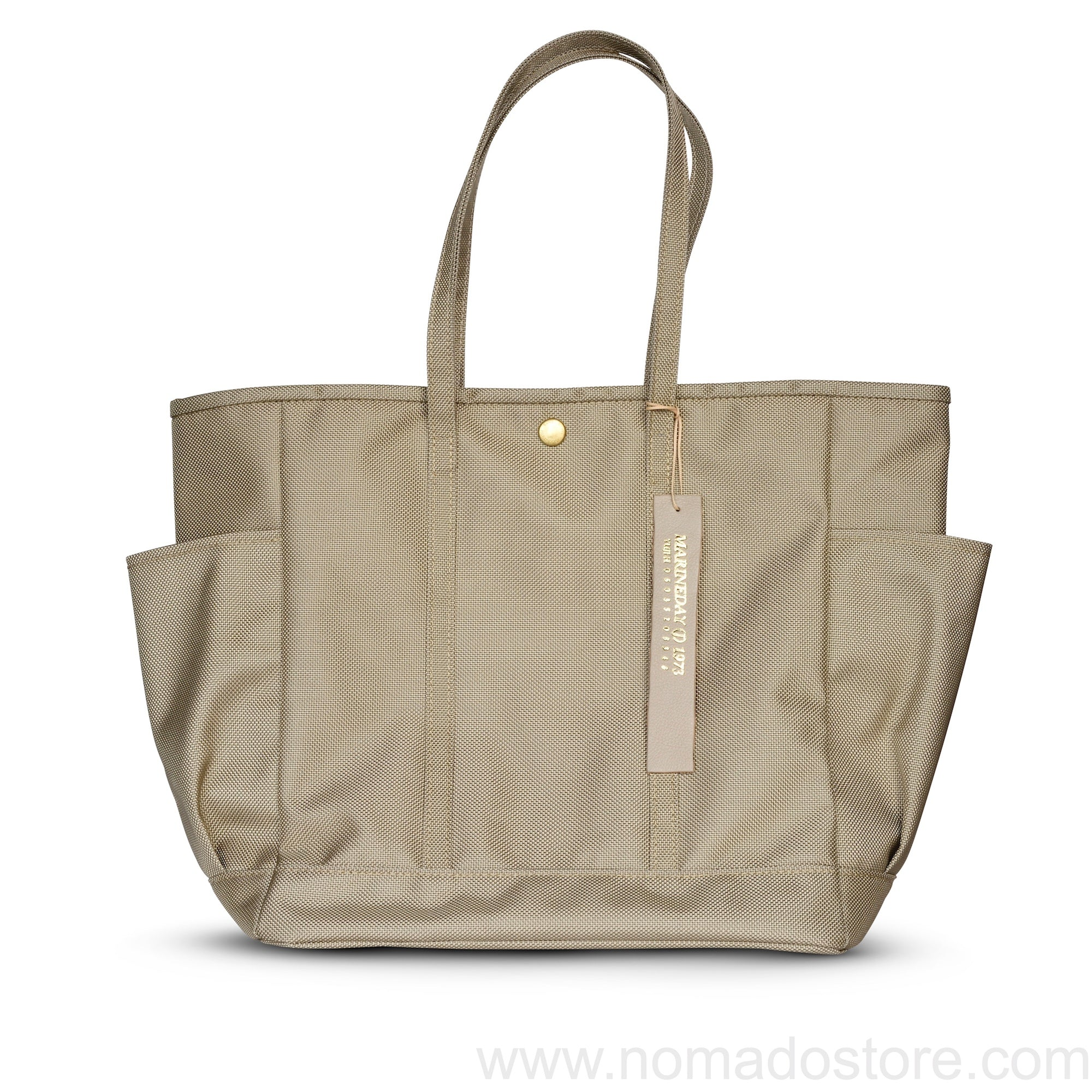 Marineday Nomad Tote Bag (Beige) - NOMADO Store