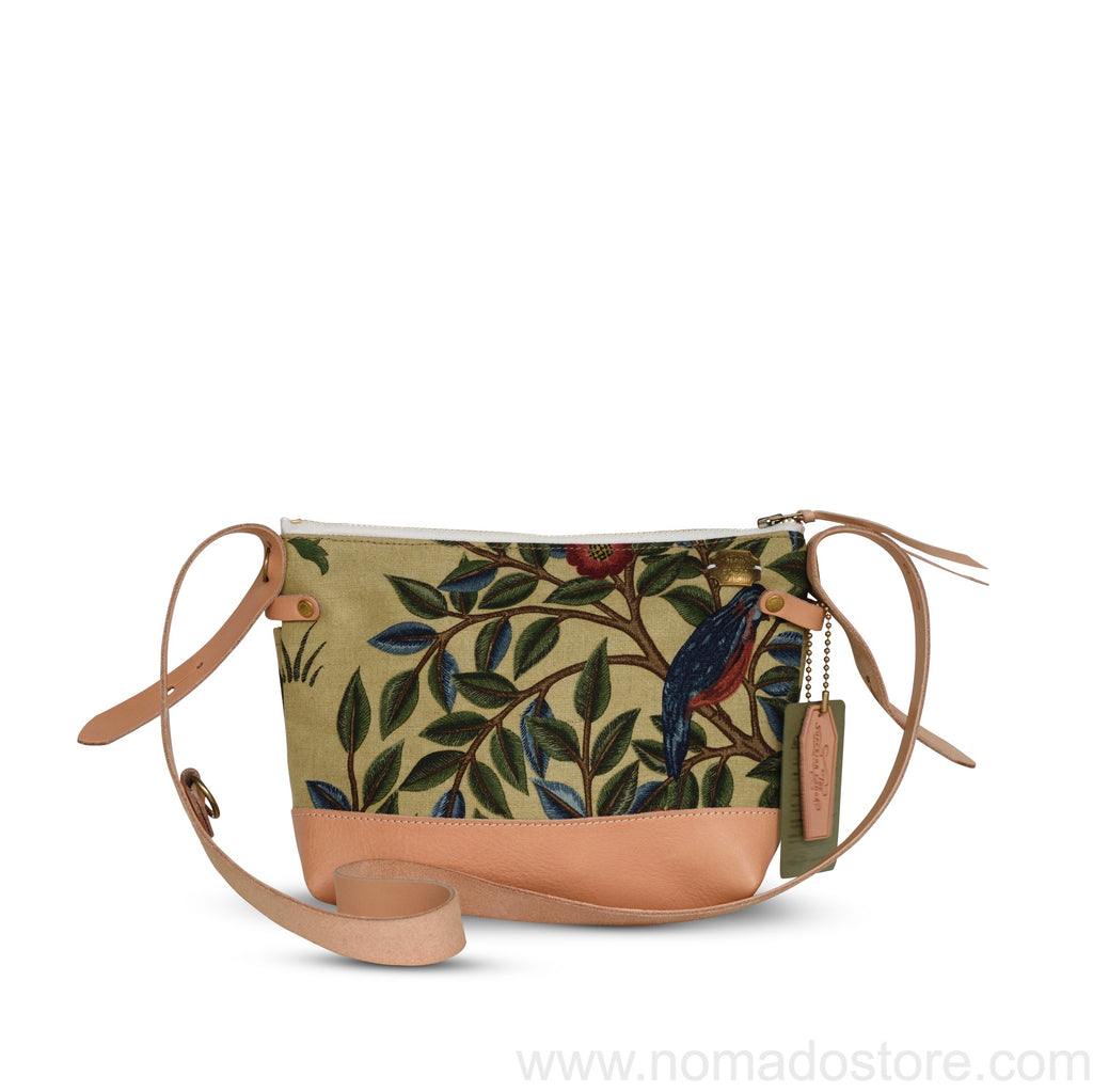 The Superior Labor William Morris Shoulder Bag Bird Pattern (2 sizes)