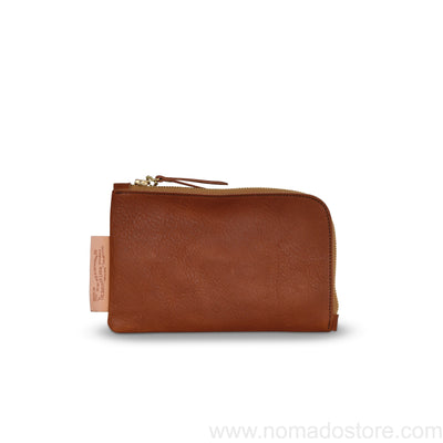 The Superior Labor Utility Leather Pouch (natural, light brown, black) - NOMADO Store