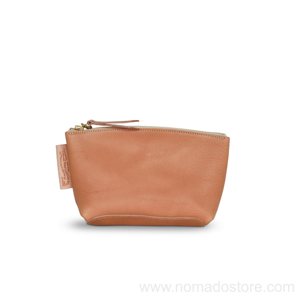 The Superior Labor new leather pouch Size S (natural, light brown)