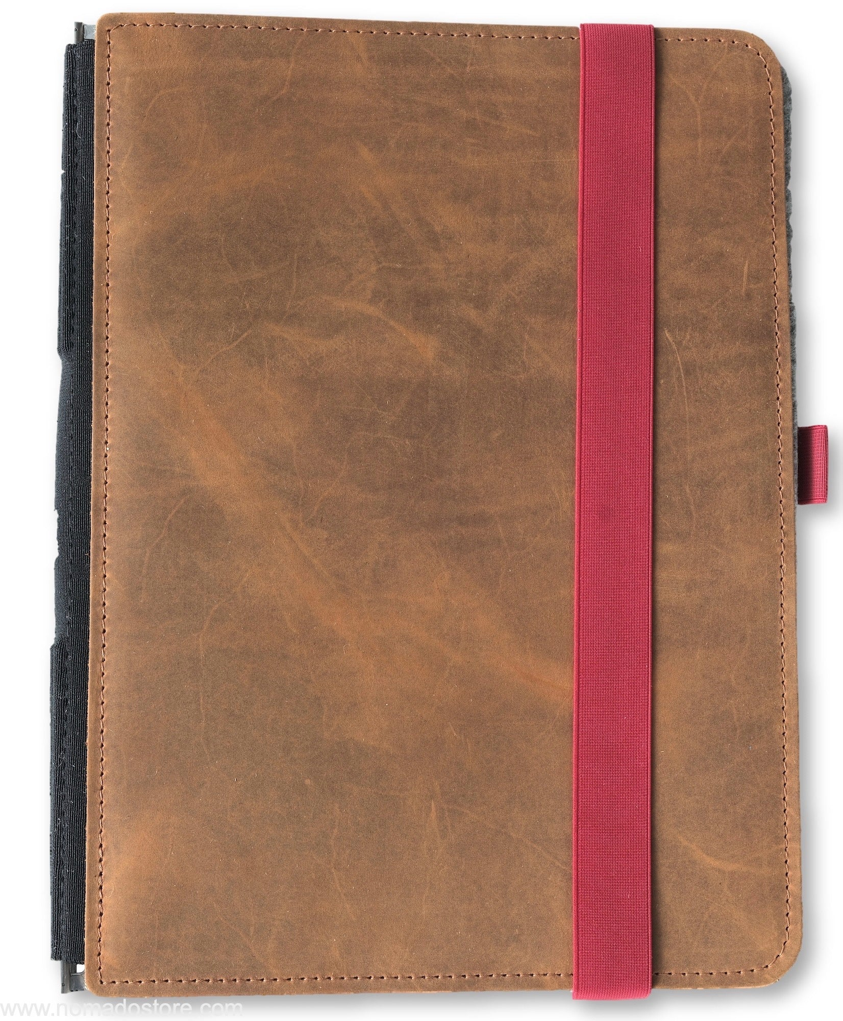 Roterfaden Taschenbegleiter (red/light brown) Generous A4 - NOMADO Store