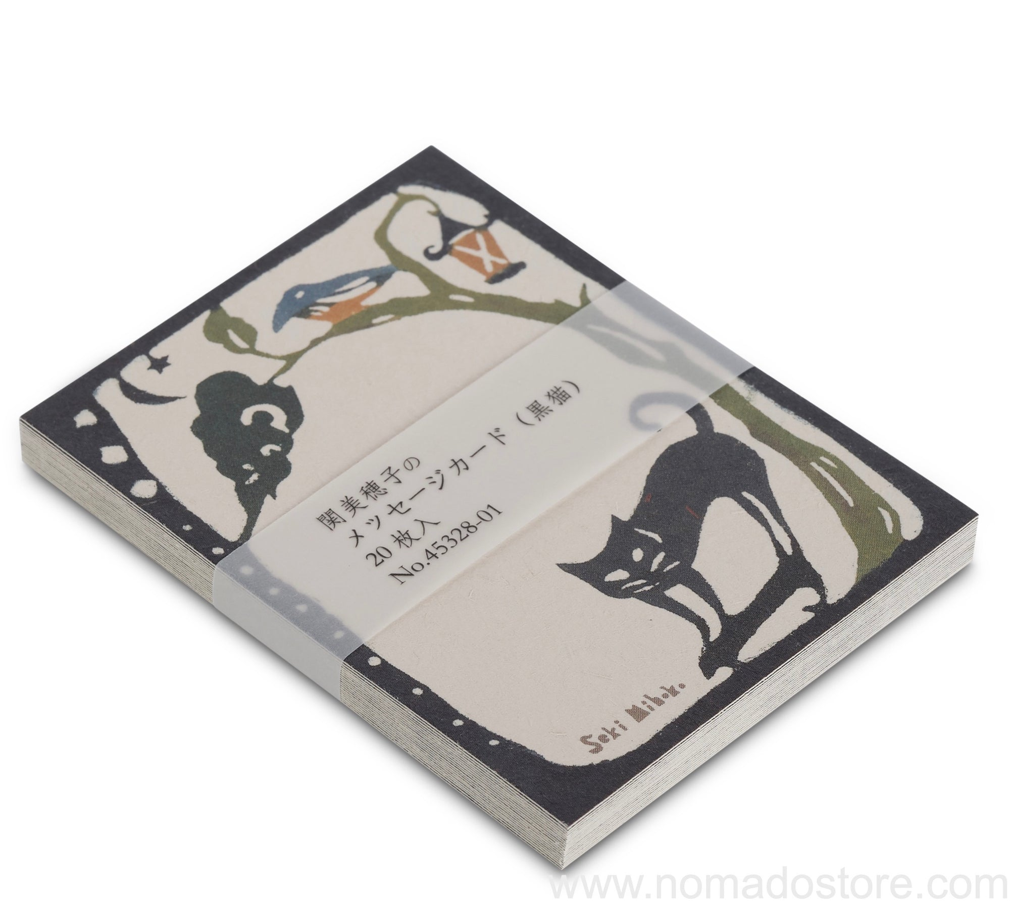 Classiky Message Cards (Black Cat) - NOMADO Store