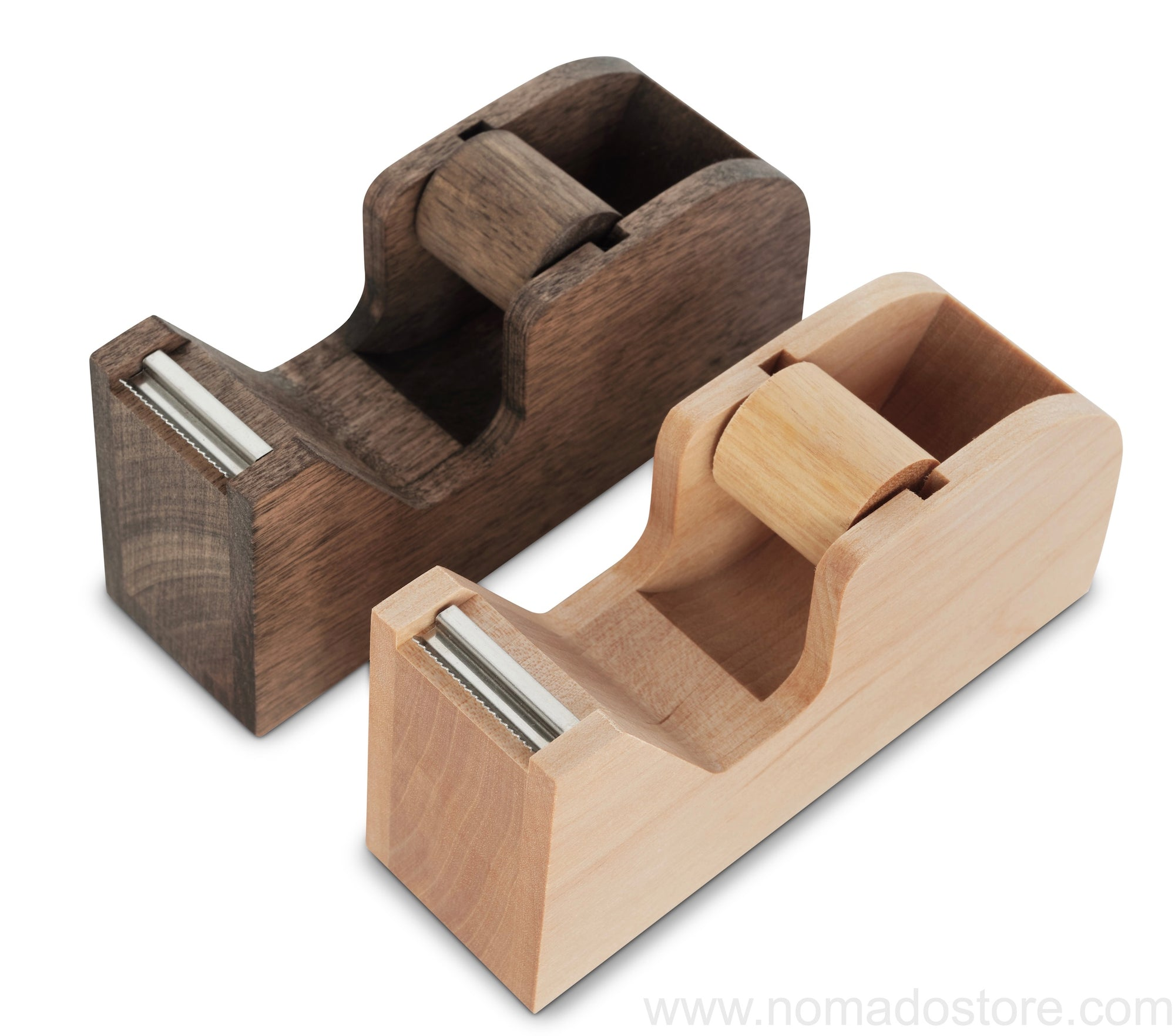 Classiky tape dispenser(wood) Natural or Brown - NOMADO Store