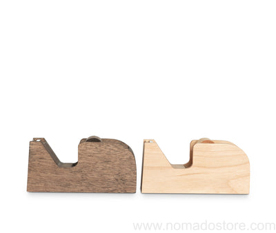 Classiky tape dispenser(wood) Natural or Brown
