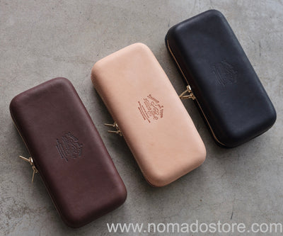 The Superior Labor Zip Leather Box L (3 colours) - NOMADO Store