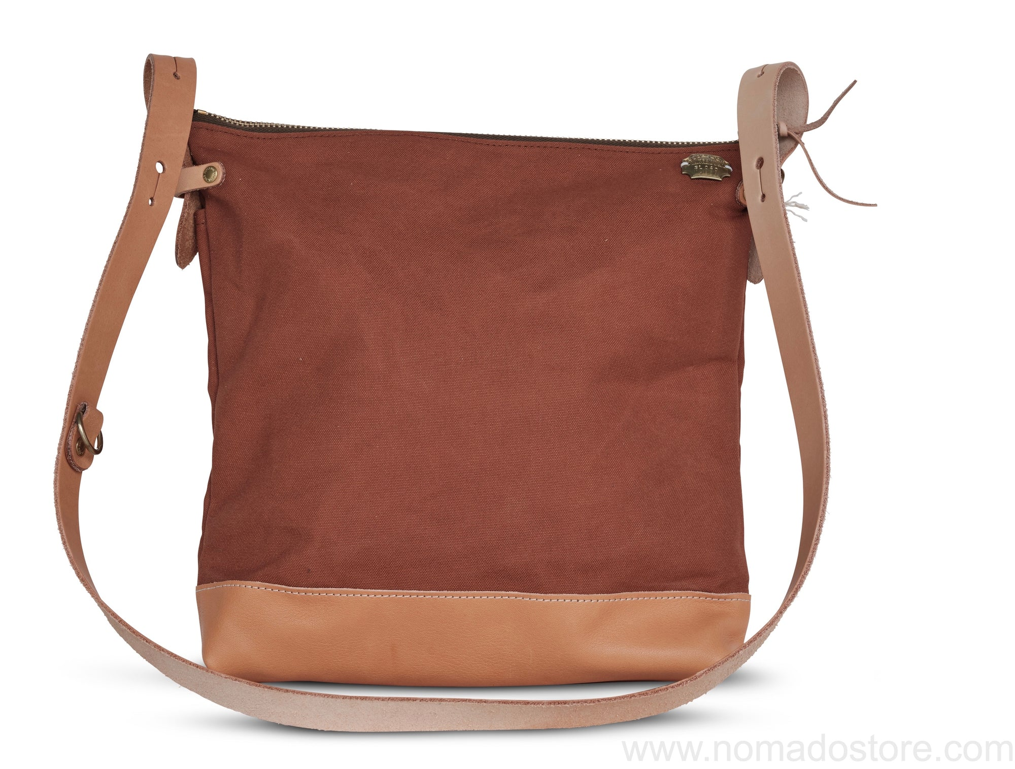 The Superior Labor Leather Bottom Shoulder Bag Large Deep (7 colours) - NOMADO Store