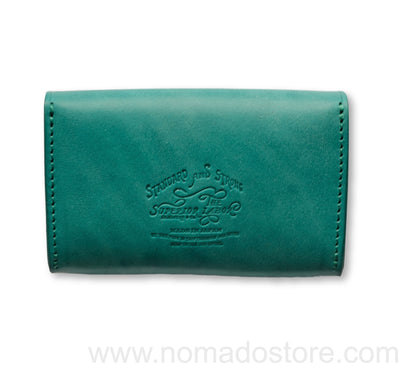 The Superior Labor harness leather card case (2 colours) - NOMADO Store