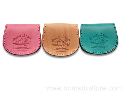 The Superior Labor harness leather coin case (3 colours) - NOMADO Store