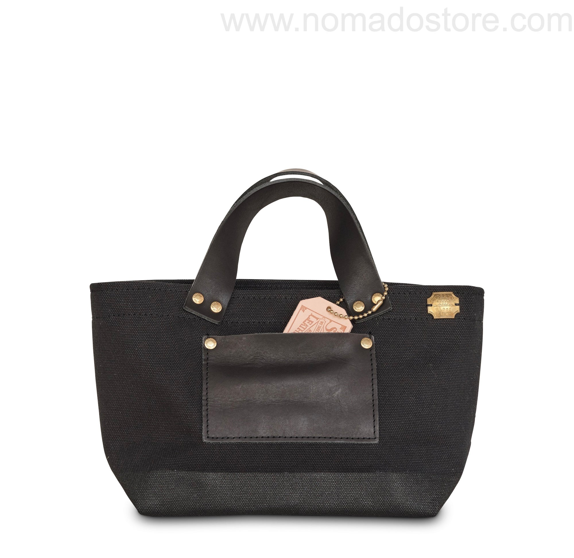 The Superior Labor Engineer Bag Petite Black/Black paint - NOMADO Store