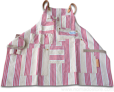 "The Superior Labor ""Too Much"" Apron (stripes) - NOMADO Store"