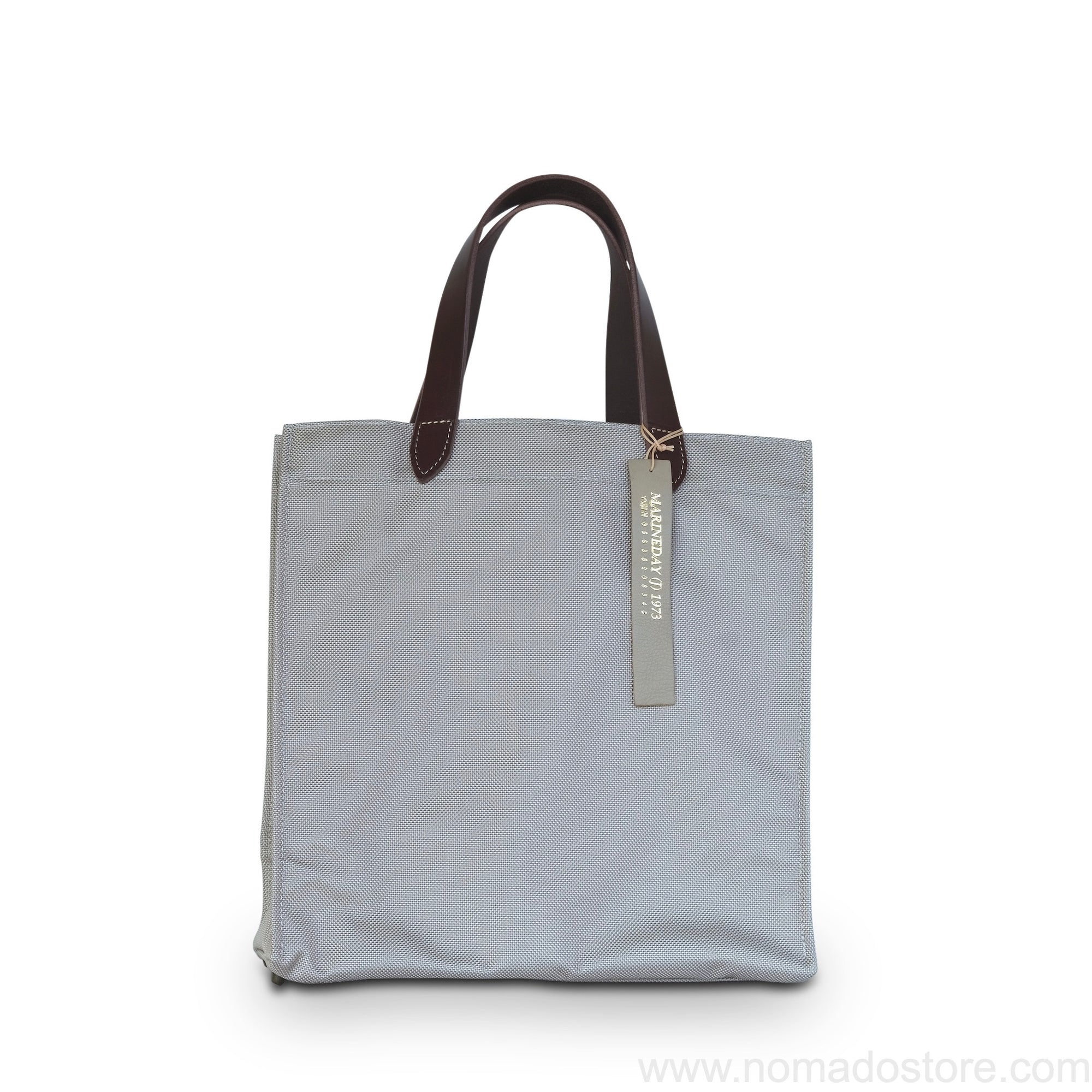 Marineday Flow 66 Nylon Tote Bag (Greige) - NOMADO Store