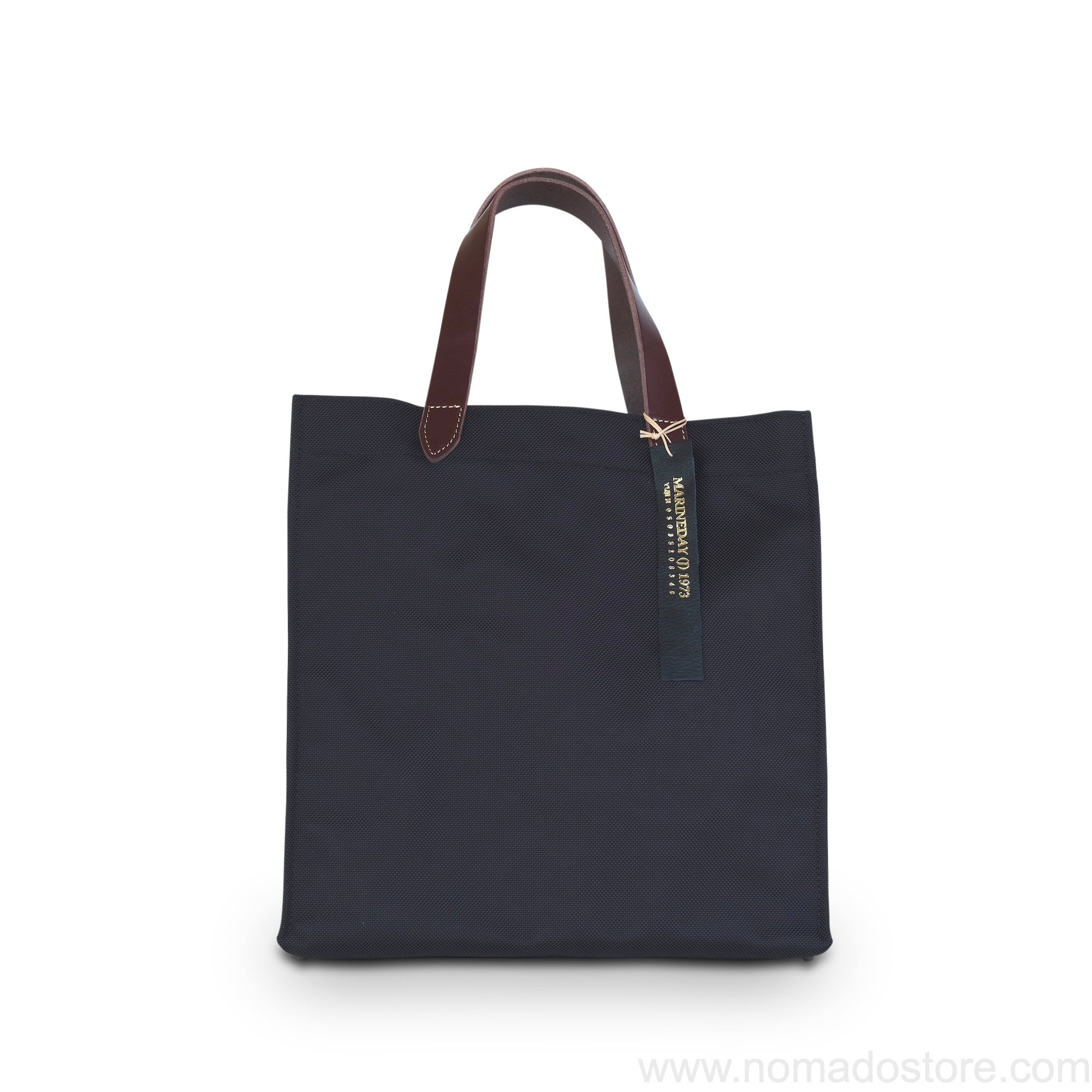 Marineday Flow 66 Nylon Tote Bag (Black/Choco) - NOMADO Store