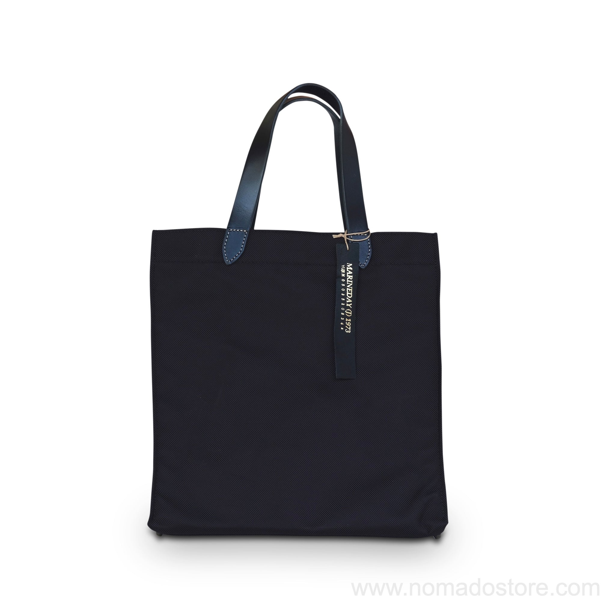 Marineday Flow 66 Nylon Tote Bag (Black/Black) - NOMADO Store