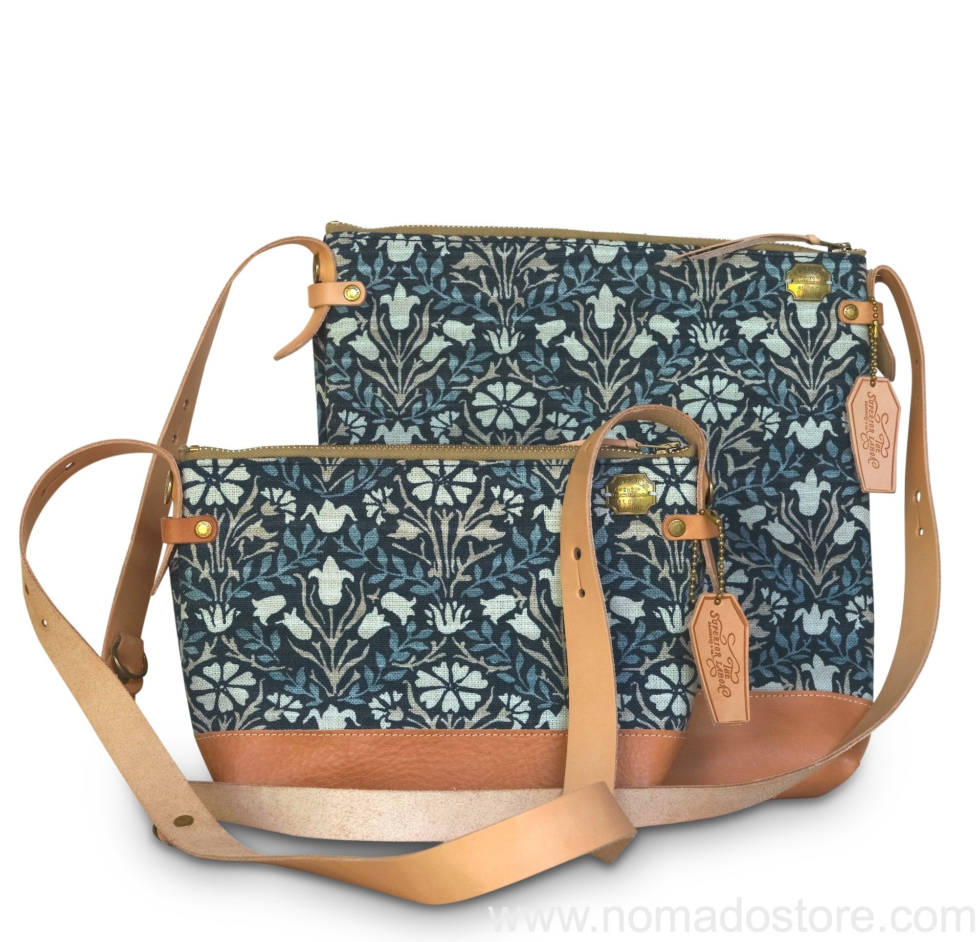 The Superior Labor William Morris Shoulder Bag Bellflowers (2 sizes)