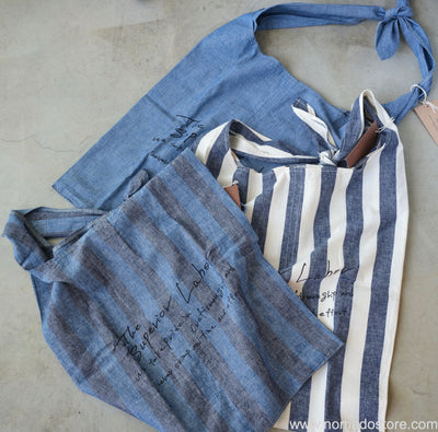 The Superior Labor Chambray Tie Shoulder Bag (3 colours)