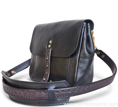 Nanala Design Small Postman Bag (Single Strap) Black PREORDER
