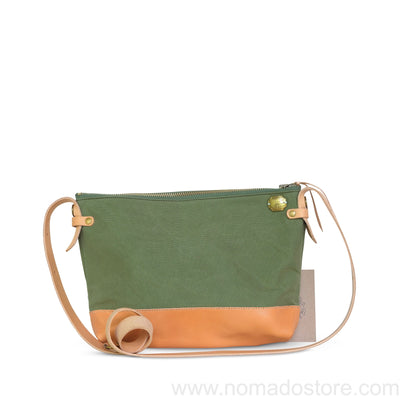 The Superior Labor Leather Bottom Shoulder Bag Large (5 colours)