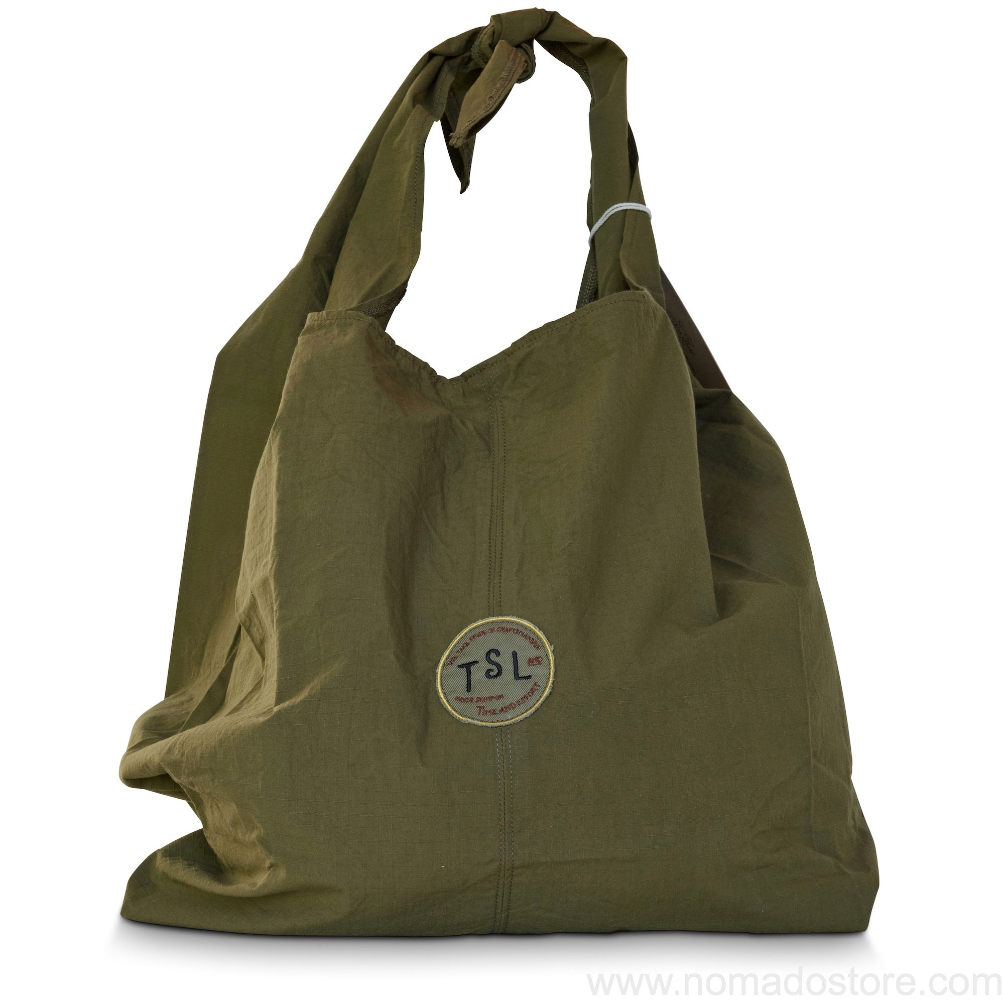 The Superior Labor Tie Shoulder Bag (khaki) - NOMADO Store