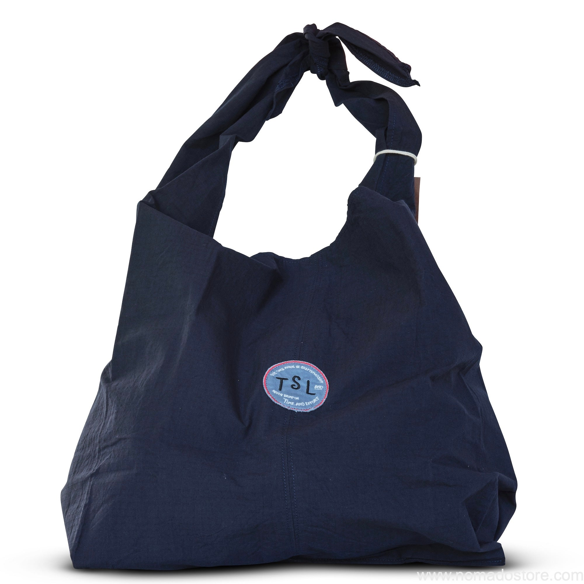 The Superior Labor Tie Shoulder Bag (navy blue) - NOMADO Store