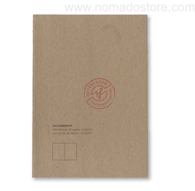 Roterfaden Smaller A5 Sketchbook (14x20cm) - NOMADO Store