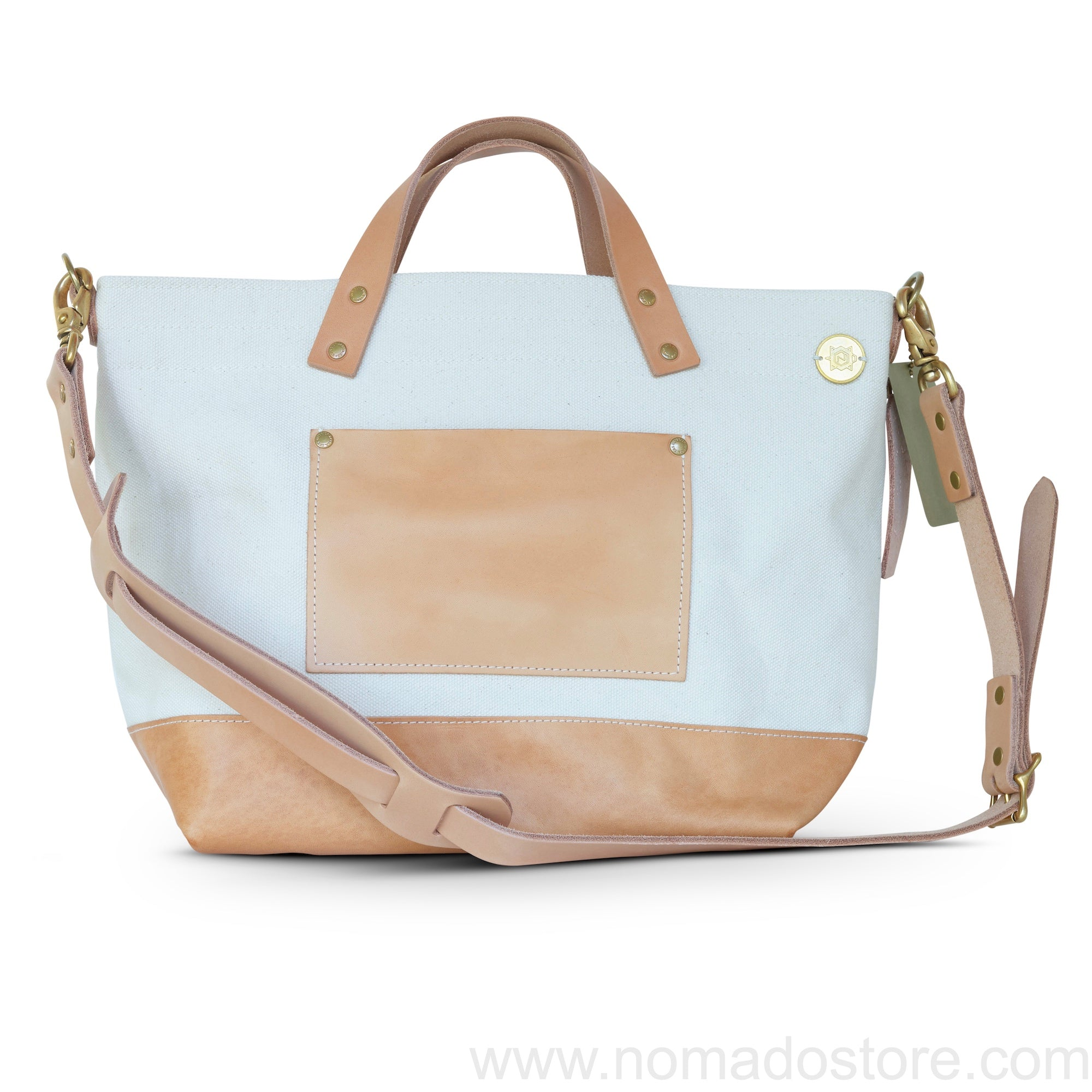 Superior Labor x Nomado Store Engineer Shoulder Bag Compact SE (natural/leather) - NOMADO Store