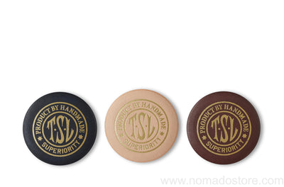 The Superior Labor Leather Badge (3 colours) - NOMADO Store