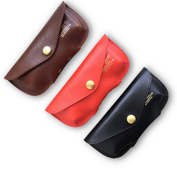 The Superior Labor leather glasses case (3 colours) - NOMADO Store