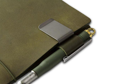 TRAVELER'S LTD Edition - Olive Edition Brass Pen - NOMADO Store
