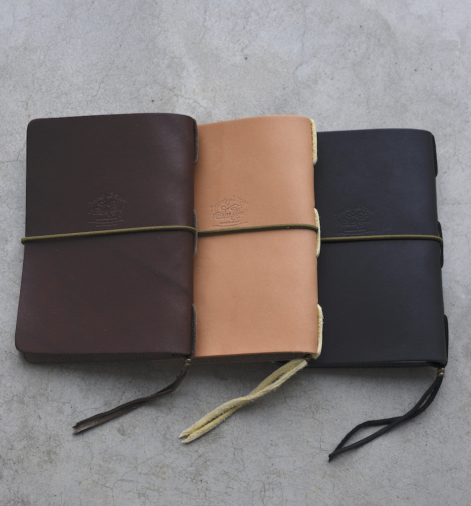The Superior Labor A6 HL004 Leather Notebook (3 colours) - NOMADO Store