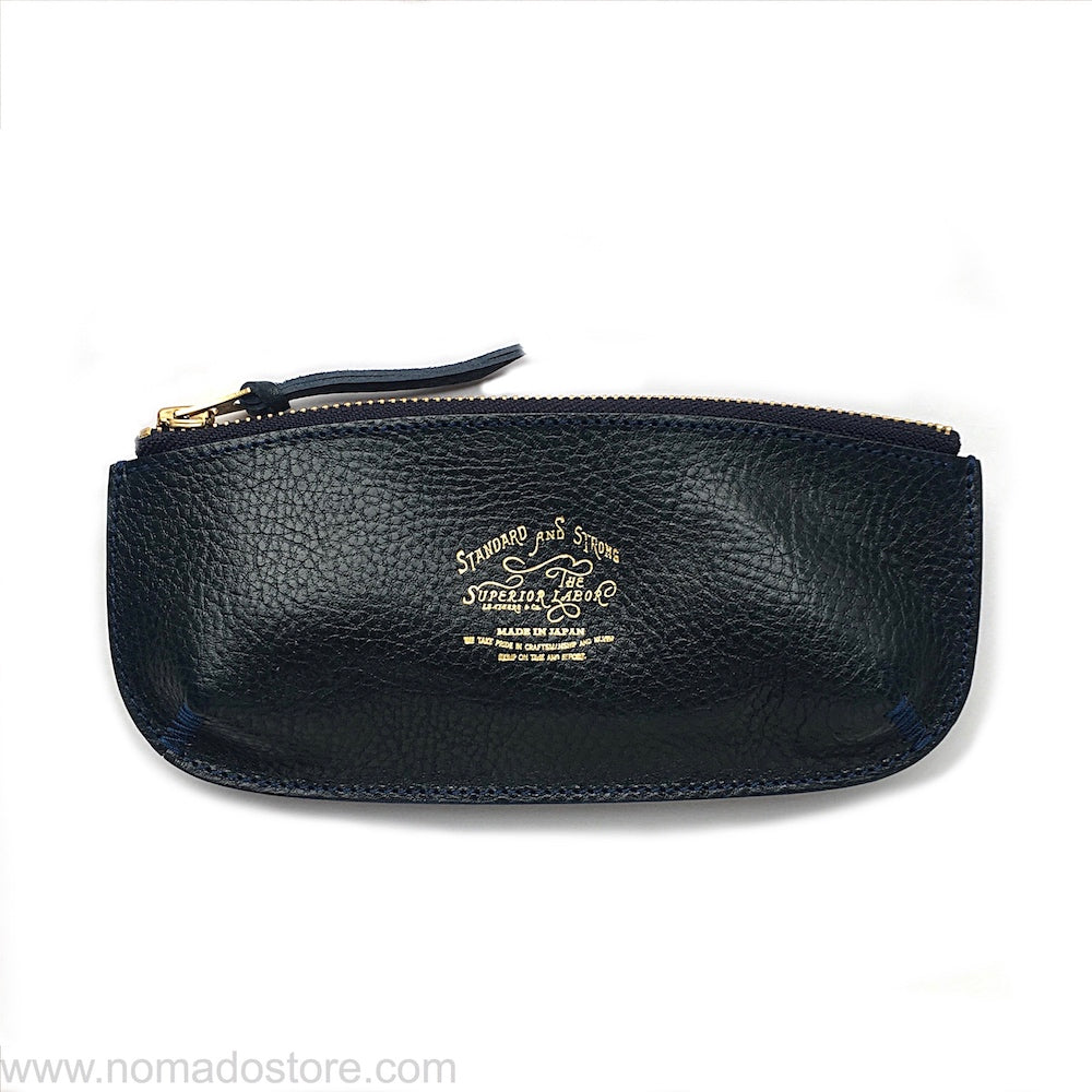 The Superior Labor zipped pen case 3 colours