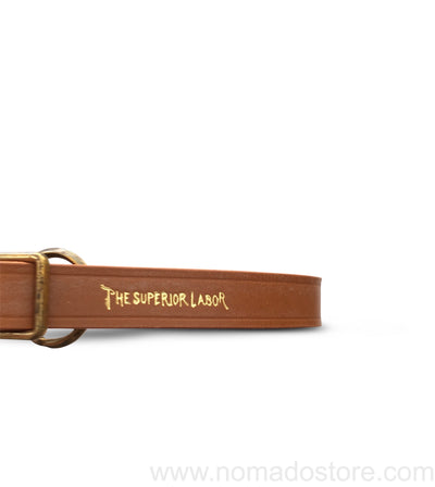 TSL×Hachigahana Photograph Club Standard Leather camera strap (4 colours) - NOMADO Store