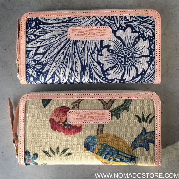 The Superior Labor William Morris Long Zip Wallet (2 patterns)