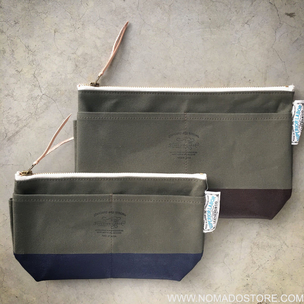 The Superior Labor Engineer Pouch DX Khaki Special Edition (Size #04)