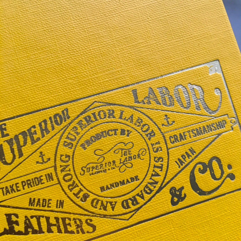 The Superior Labor x Kokuyo Survey Field Notebook (4 colours)