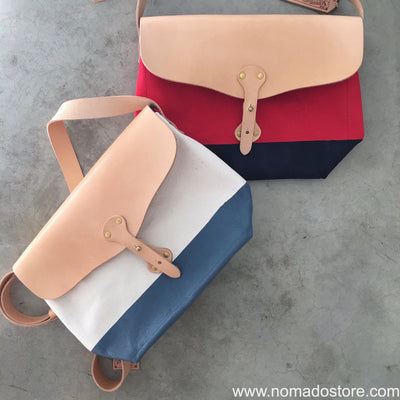 Superior Labor x Nomado Store Paint Shoulder Bag Large (6 colours) - NOMADO Store