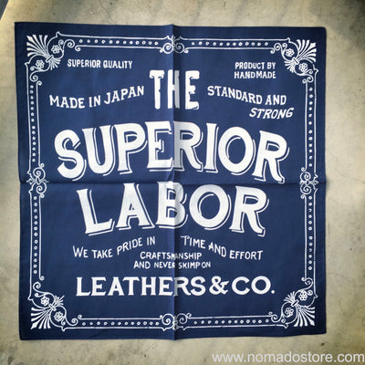 The Superior Labor Bandana - Navy Blue - NOMADO Store