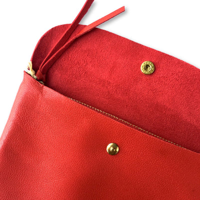 Marineday Robinson Pouch Red (2 sizes) - NOMADO Store
