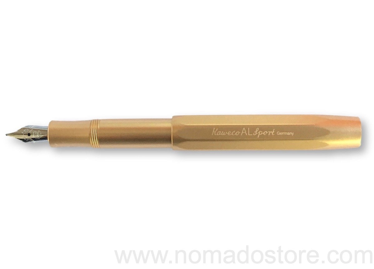 Kaweco Al Sport Gold Ltd Edition fountain pen - NOMADO Store
