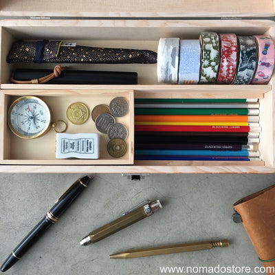 Classiky Toga wood Desk tools Box - NOMADO Store