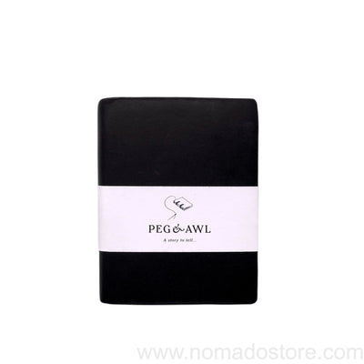 Peg & Awl The Jackson Journal (Black/Large)