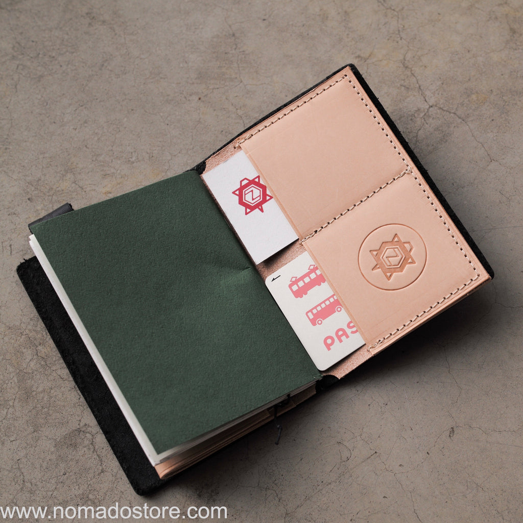 High Meadows x Nomado Store Leather TN insert Passport size - NOMADO Store