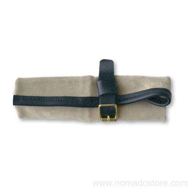 High Meadows Luxury Pen Roll (suede/leather) - NOMADO Store