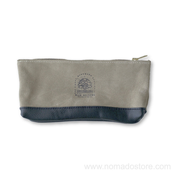 High Meadows Two-Tone Pouch (suede/leather) - NOMADO Store