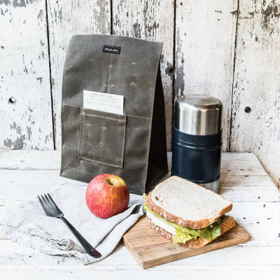 Peg and Awl The Marlowe Lunch Bag - Slate - NOMADO Store