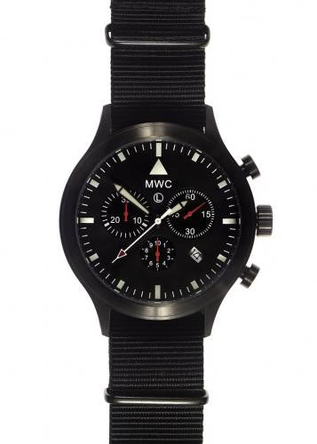 MWC MIL-TEC MKVI PVD Stainless Steel Military Pilots Chronograph - NOMADO Store