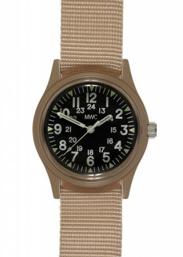 73ce2537b7a MWC Ltd Edition US Desert Pattern Vietnam Watch Black dial. Military Watch  Company