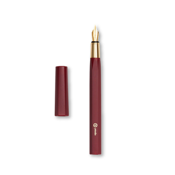 Ystudio Resin Series Fountain Pen (Red)