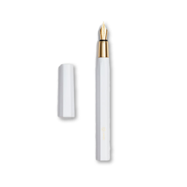 Ystudio Resin Series Fountain Pen (White) PRE-ORDER